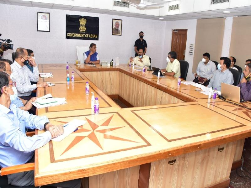Enhanced-Vaccination-Drive-to-begin-in-Assam-from-21-June-;-Will-inoculate-3-lakh-beneficiaries-daily-says-CM-Himanta-Biswa-Sarma