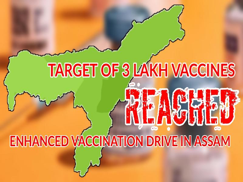 Cachar-ranked-3rd-on-first-day-of-Enhanced-Vaccination-Drive;-Assam-goes-past-the-set-target-of-3-Lakh-doses