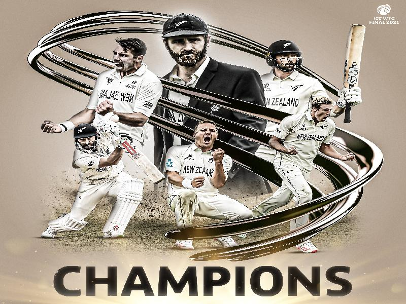 NEW-ZEALAND-WIN-THE-WORLD-TEST-CHAMPIONSHIP,-BEAT-INDIA-BY-8-WICKETS