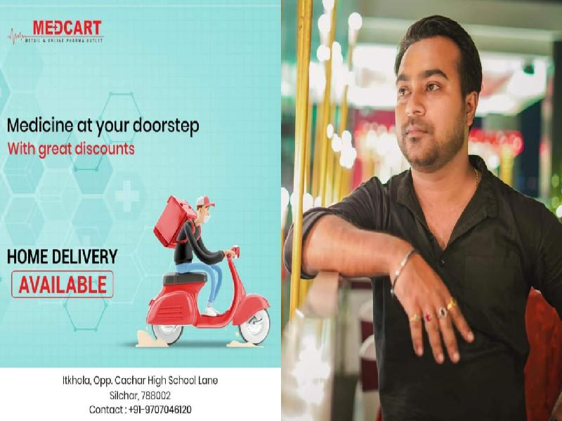 Photographer-&-Pharmacist-Dev-Dutta-offers-Free-Home-Delivery-of-Medicines