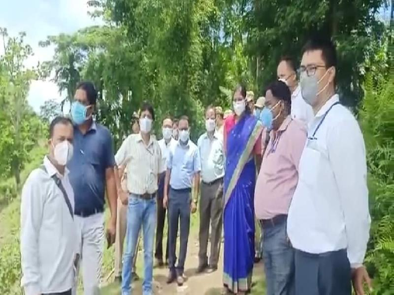 ATSP-Phase-III-launched-at-Tukergram-Village-to-detect-ILI-and-SARI-cases