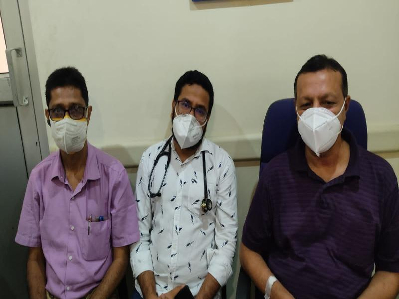 MLA-Siddeque-Ahmed-tests-COVID-19-negative;-released-from-Nursing-Home-on-Thursday