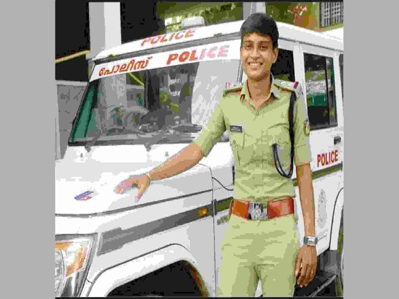 Abandoned-at-the-age-of-18-with-a-baby,-this-Kerala-cop-has-come-a-long-way